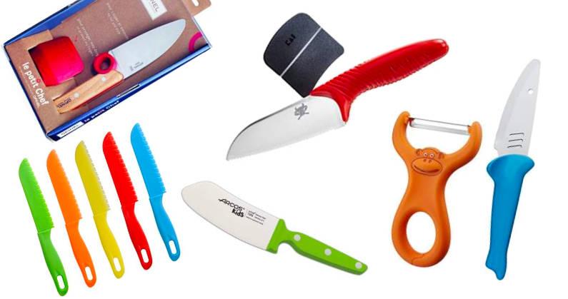 Los mejores cuchillos para niños