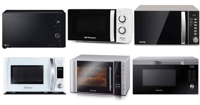 Los mejores hornos microondas