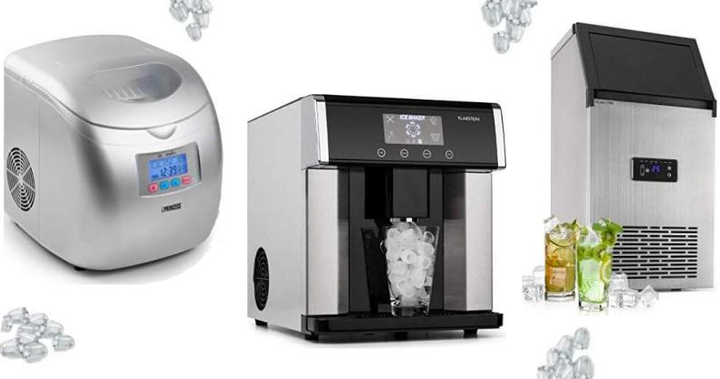 Las mejores máquinas para hacer hielo