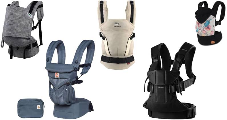Las mejores mochilas de porteo para bebés