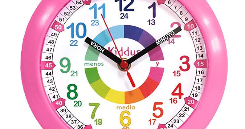 El mejor reloj de pared para niños