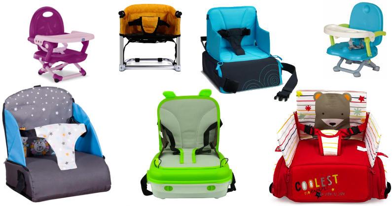 Las mejores tronas de viaje para bebés