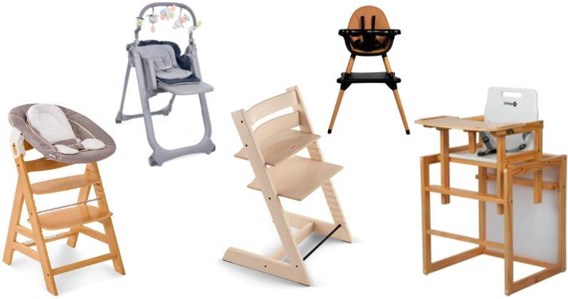 Las mejores tronas evolutivas para bebés y niños