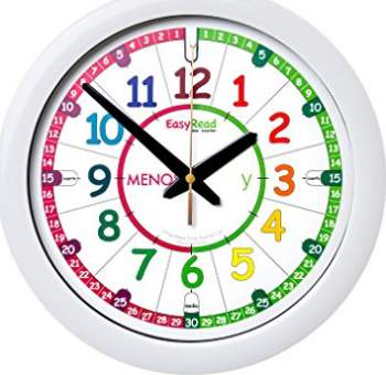 Relojes de pared para niños EasyRead time teacher ERTT-ES