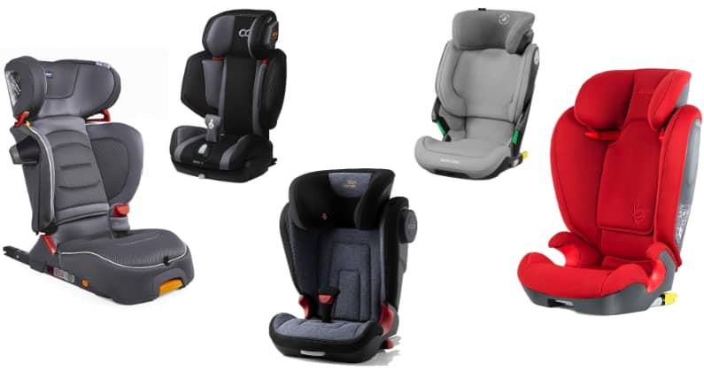 Las mejores sillas de coche para niños de 100-150 cm